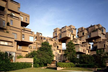 habitat 67 The Habitat 67 Residences by Moshe Safdie   Montreal, Canada