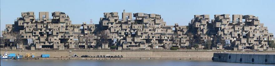 The Habitat '67 Residences by Moshe Safdie – Montreal, Canada