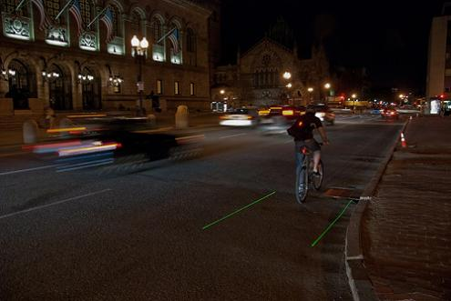 instant night lane The LightLane: If You Bike at Night, Consider This Light