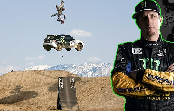 ken block travis pastrana Living The Life   Ken Block: Co Founder of DC Shoes and Pro Rally Racer