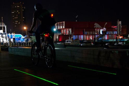 The LightLane: If You Bike at Night, Consider This Light