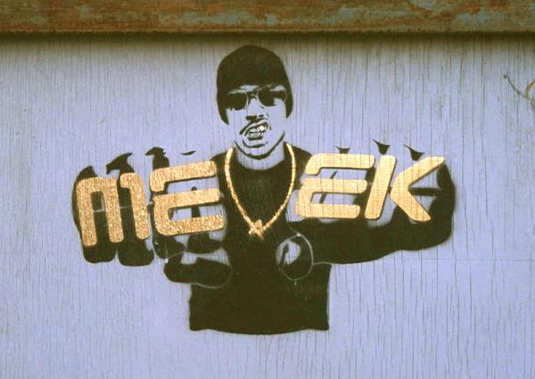 meek bling Street Artist Meek | Excellence in Stencil Graffiti