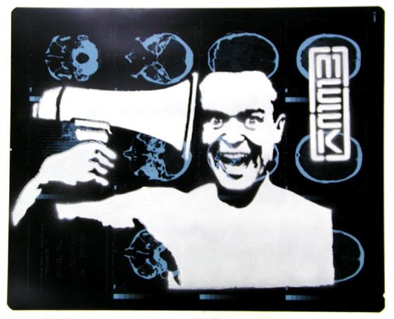 meek megaphone Street Artist Meek   Excellence in Stencil Graffiti