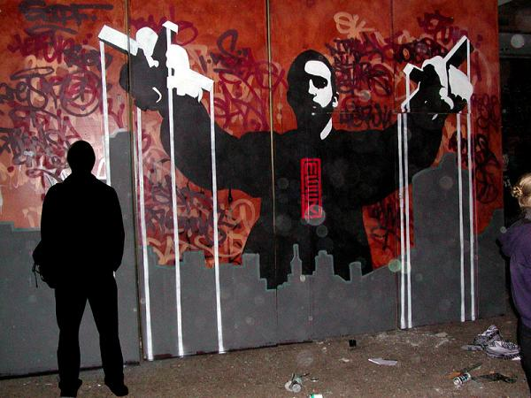 meek Street Artist Meek   Excellence in Stencil Graffiti