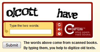 recaptcha example Why Nerds Rule: Luis Von Ahn and reCAPTCHA