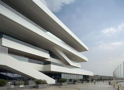 americas cup building david chipperfield architects Waterfront Viewing   Americas Cup Building Veles e Vents | Valencia, Spain