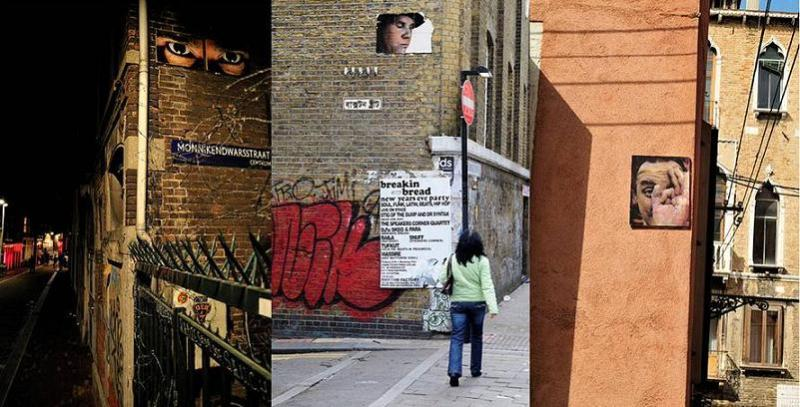 asbestos in the streets Street Art by Asbestos   Master of Mixed Media