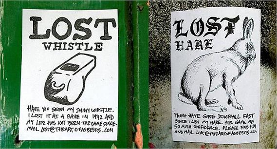 asbestos lost series Street Art by Asbestos   Master of Mixed Media