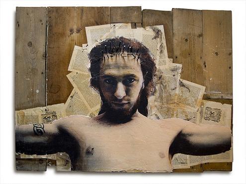 asbestos mixed media artwork Street Art by Asbestos   Master of Mixed Media