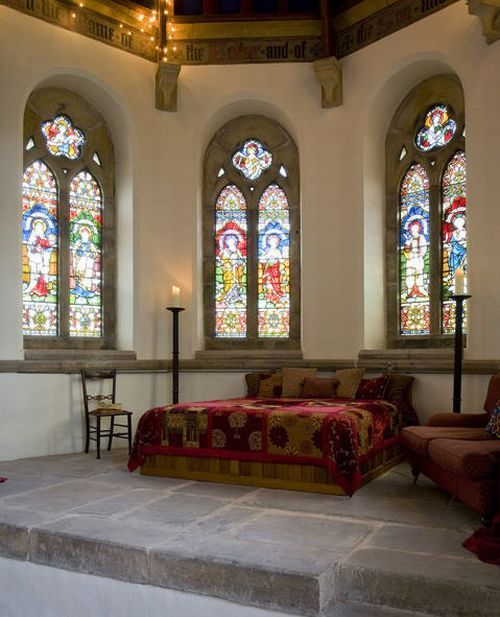 church master bedroom Holy Conversion: Church from 1790s Renovated and Restored