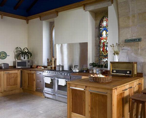 church renovation kitchen Holy Conversion: Church from 1790s Renovated and Restored
