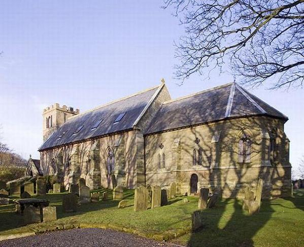 st nicholas church kyloe northumberland uk Holy Conversion: Church from 1790s Renovated and Restored
