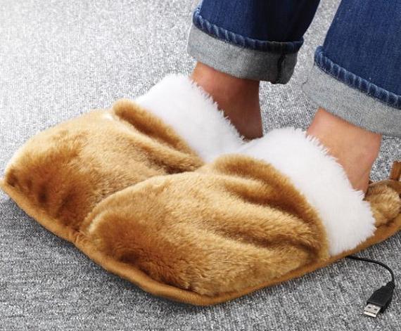 usb foot warmers 10 Awesome USB Devices and Gadgets