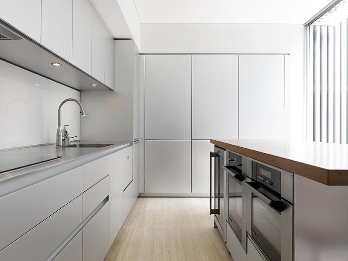 55 blair road singapore kitchen An Elegant Solution To A Long And Narrow Space