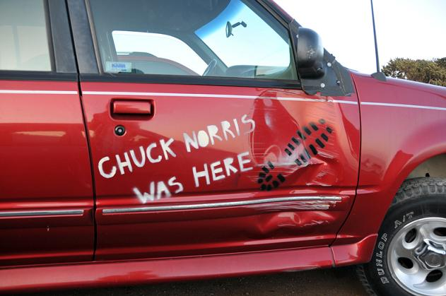 chuck norris was here The Friday Shirk Report   August 28, 2009 | Volume 20