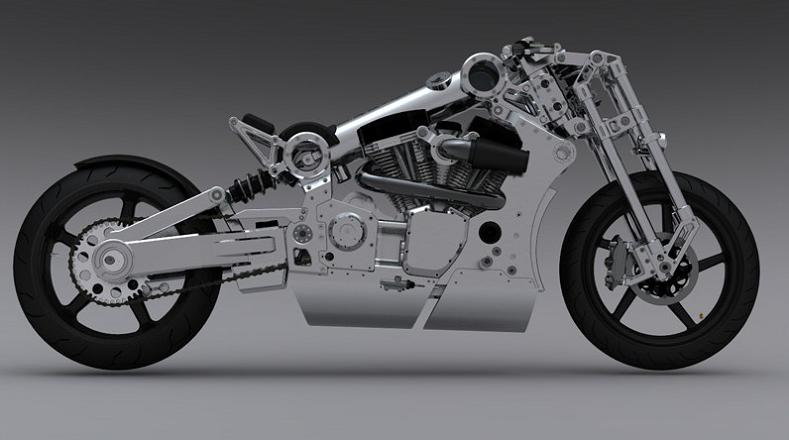 confederate bike BMW Unveils Stunning Hybrid Concept Car