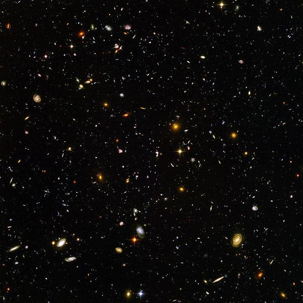 hubble ultra deep field image How to Grasp Size, Scale and Temperature with Three Giant Infographics