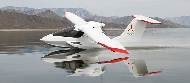 Experience The Joy of Flight in the Icon A5 Light Sport Aircraft