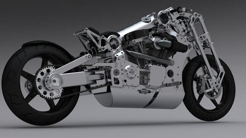 p120 combat edition fighter luxury motorcylce The Exclusive P120 Fighter   Combat Edition Motorcycle by Confederate
