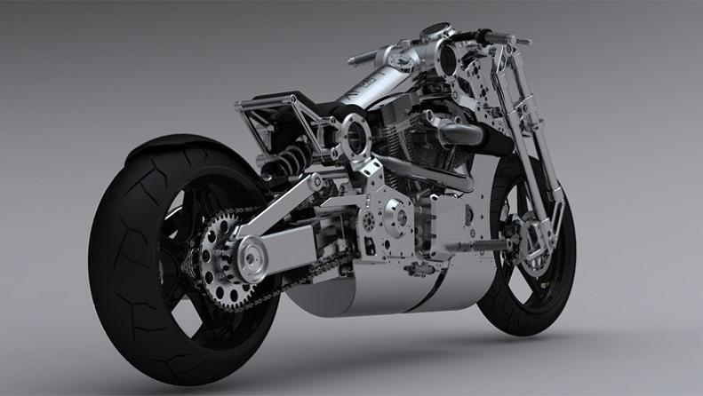 p120 motorcycle The Exclusive P120 Fighter   Combat Edition Motorcycle by Confederate