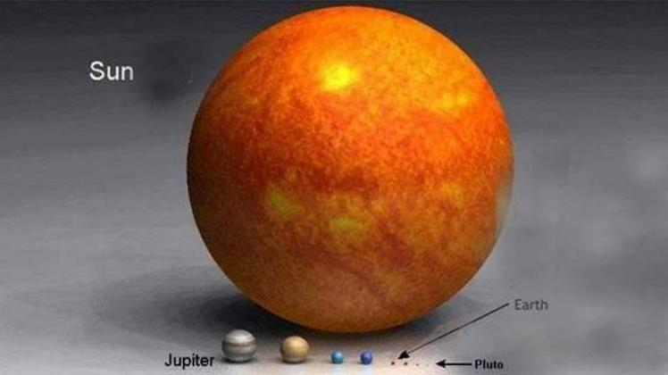 size of the sun The Greatest Image Ever