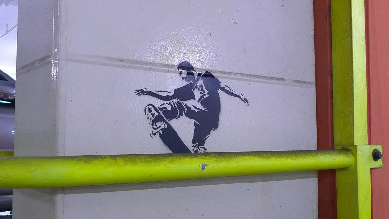 stencil skater Well Placed Stencil Skaters by TR853 1 (Trase 1)