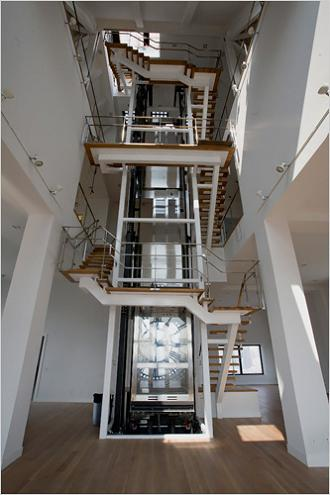 the clocktower condos penthouse elevator The Most Expensive Property In Brooklyn, New York