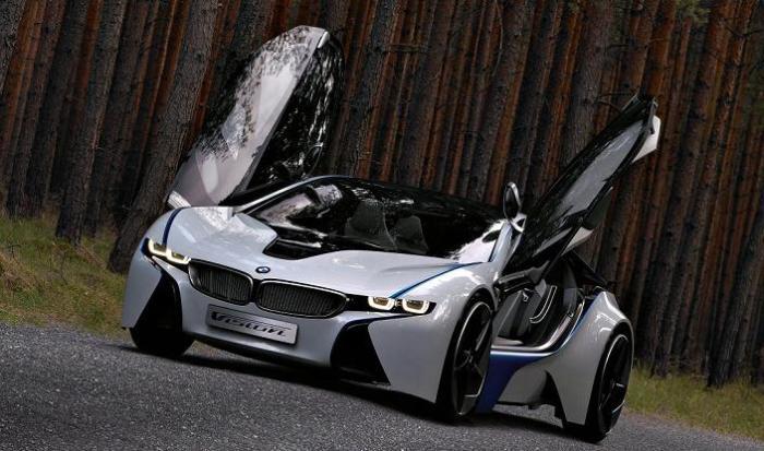 bmw concept diesel-electric car frankfurt auto show