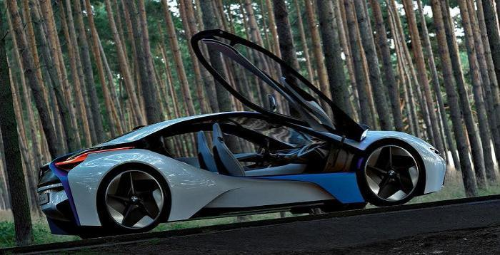 New Bmw Car With Gullwing Doors