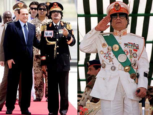 colonel gadaffi qaddafi kaddafi The Best Dressed Politician in the World