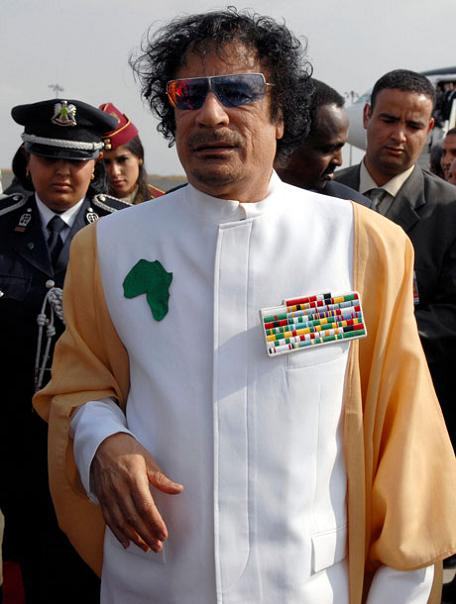 gaddafi qaddafi kaddafi The Best Dressed Politician in the World