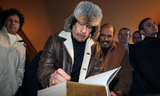 gadhafi qadhafi kadhafi The Best Dressed Politician in the World