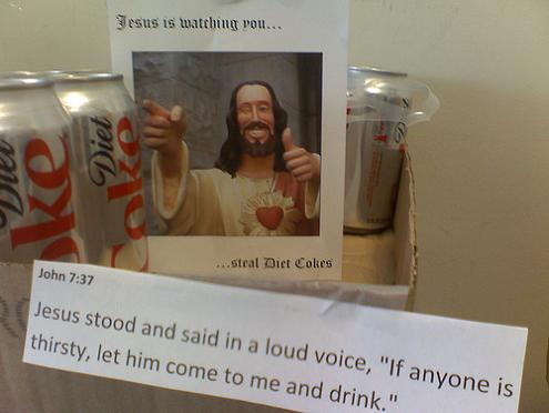 jesus is watching you The Friday Shirk Report   September 25, 2009 | Volume 24