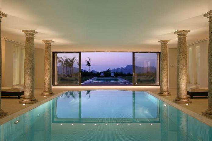 luxury property indoor pool What Does A $72.7 Million Luxury Property Look Like?