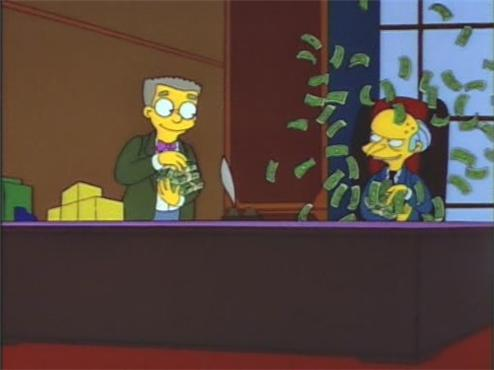 money fight burns smithers simpsons What Does A $72.7 Million Luxury Property Look Like?
