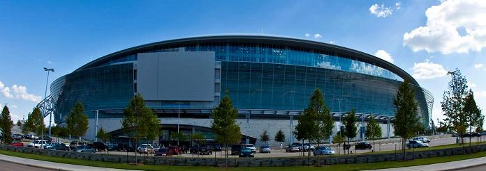 new dallas cowboys stadium windows What Costs $1.3 Billion, Holds 111,000 people and Has the Worlds Biggest TV?