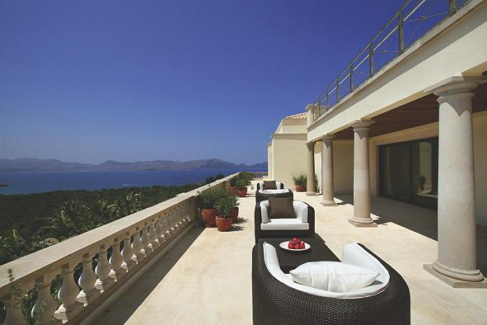 panoramic view of the mediterranean What Does A $72.7 Million Luxury Property Look Like?