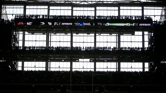 standing room only section new dallas cowboys stadium What Costs $1.3 Billion, Holds 111,000 people and Has the Worlds Biggest TV?