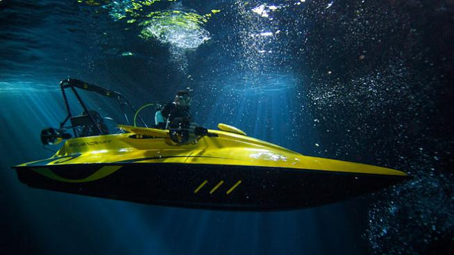 boat that goes underwater Can Your Boat Dive 100 Feet Under Water?