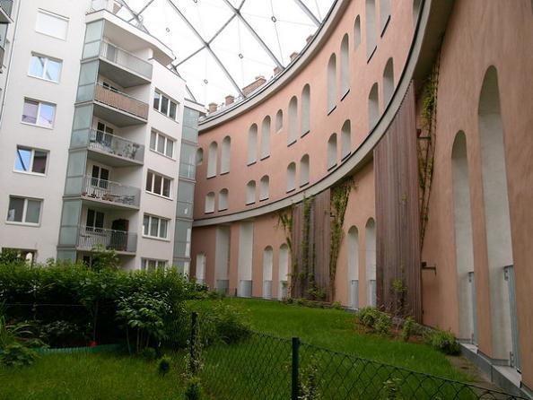 inside a gasometer vienna g city Industrial Renovation: The Gasometers of Vienna
