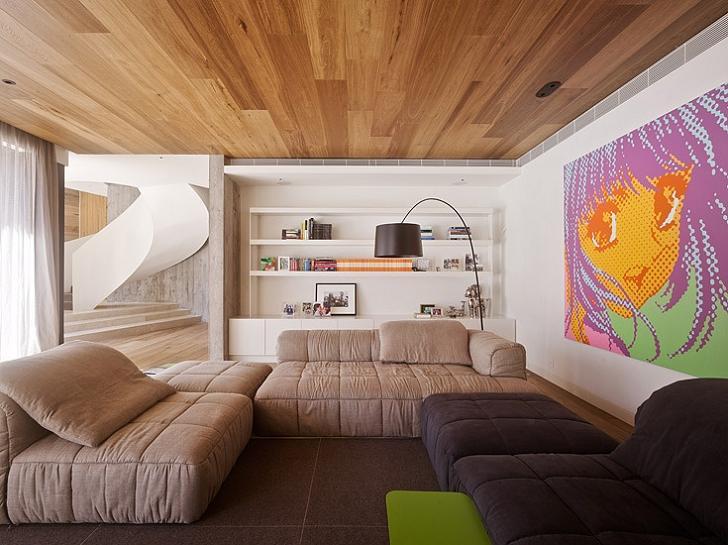 interior design living room inspiration The Yarra House: Interior Design Inspiration