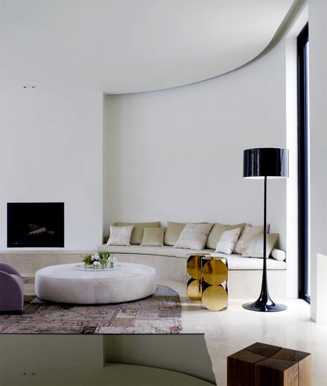 living room interior design The Yarra House: Interior Design Inspiration