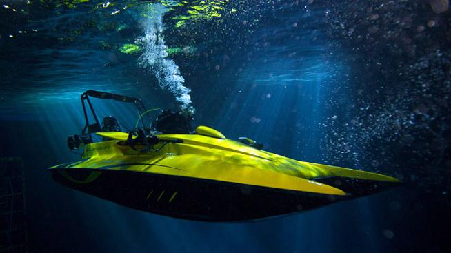scubacraft Can Your Boat Dive 100 Feet Under Water?