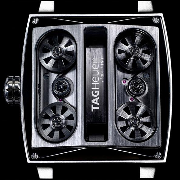 tag heuers most expensive watch Gears of Bore: The Worlds First Belt Driven Watch