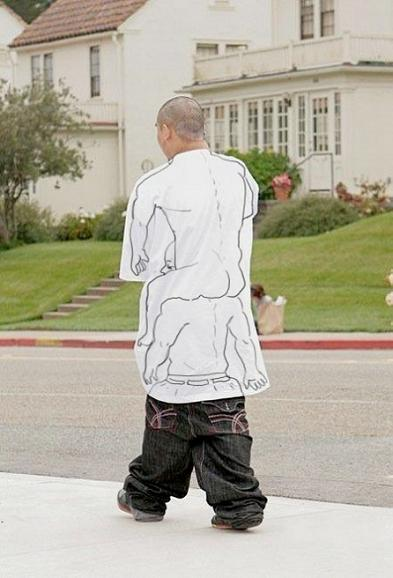 two guys drawn on shirt baggy pants The Friday Shirk Report   October 9, 2009 | Volume 26