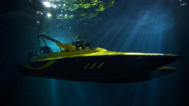 Can Your Boat Dive 100 Feet Under Water?