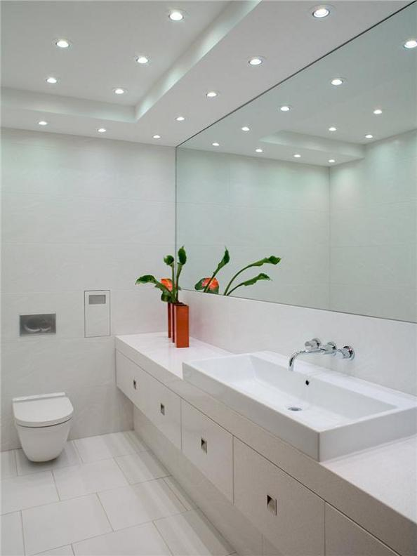 all white bathrom luxury condo The $10 Million Aquarius Penthouse Feels Like a Nightclub