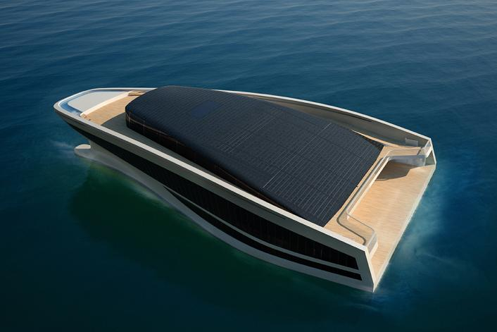 Luxury Yacht Concept Wide Re Imagining The Super Wally Hermes Yachts