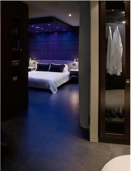 master bedroom inspiration design The $10 Million Aquarius Penthouse Feels Like a Nightclub