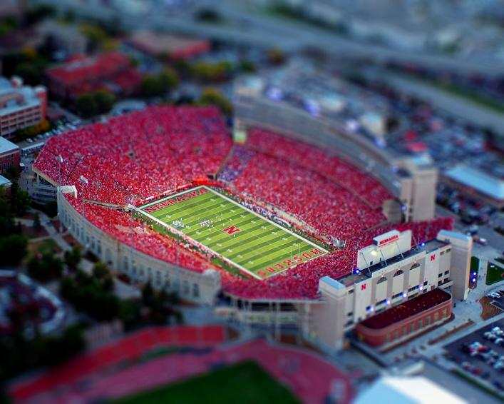miniature stadium scene What is Tilt Shift Photography?